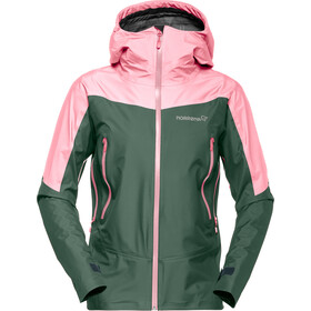 Norrøna Falketind Gore-Tex Jas Dames, jungle green
